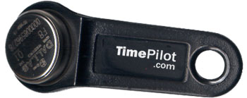 TimePilot's iButton in 'basic black'